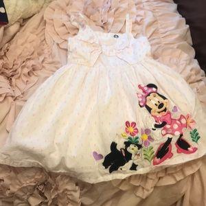 Disney Store Minnie and Cat Figaro Girls Dress